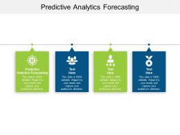 Predictive Analytics Forecasting Ppt Powerpoint Presentation Gallery Format Ideas Cpb