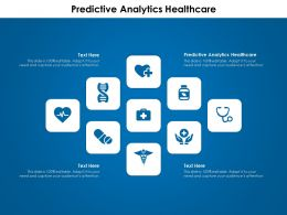 Predictive Analytics Healthcare Ppt Powerpoint Presentation File Graphics Download