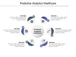 Predictive Analytics Healthcare Ppt Powerpoint Presentation Professional Cpb
