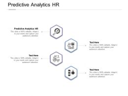 Predictive Analytics HR Ppt Powerpoint Presentation Summary Show Cpb