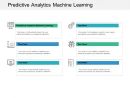 Predictive Analytics Machine Learning Ppt Powerpoint Presentation Slides Visual Aids Cpb