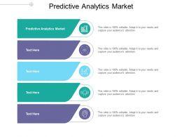 Predictive Analytics Market Ppt Powerpoint Presentation Ideas Examples Cpb