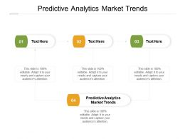 Predictive Analytics Market Trends Ppt Powerpoint Presentation Ideas Clipart Cpb