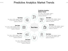 Predictive Analytics Market Trends Ppt Powerpoint Presentation Styles Guide Cpb