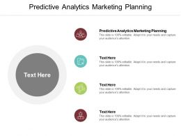 Predictive Analytics Marketing Planning Ppt Powerpoint Presentation Ideas Inspiration Cpb