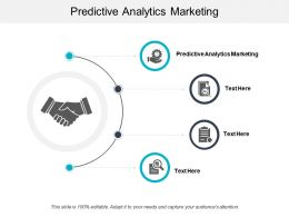 Predictive Analytics Marketing Ppt Powerpoint Presentation File Background Image Cpb