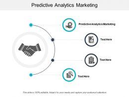 Predictive Analytics Marketing Ppt Powerpoint Presentation File Background Image Cpb