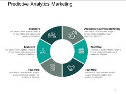 Predictive Analytics Marketing Ppt Powerpoint Presentation Summary Icon Cpb