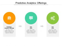 Predictive Analytics Offerings Ppt Powerpoint Presentation Styles Backgrounds Cpb