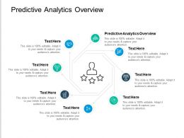 Predictive Analytics Overview Ppt Powerpoint Presentation Show Icon Cpb