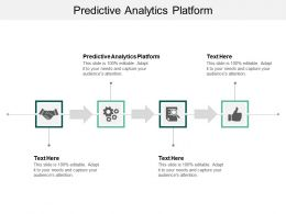 Predictive Analytics Platform Ppt Powerpoint Presentation File Design Inspiration Cpb