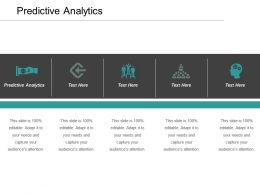 Predictive Analytics Ppt Powerpoint Presentation File Slides Cpb