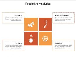 Predictive Analytics Ppt Powerpoint Presentation Gallery Background Designs Cpb
