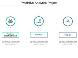Predictive Analytics Project Ppt Powerpoint Presentation Pictures Visual Aids Cpb
