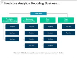 Predictive Analytics Reporting Business Succession Plan Operational Risks Cpb