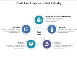 Predictive Analytics Retail Industry Ppt Powerpoint Presentation Gallery Visuals Cpb