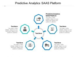Predictive Analytics Saas Platform Ppt Powerpoint Presentation Infographics Background Cpb