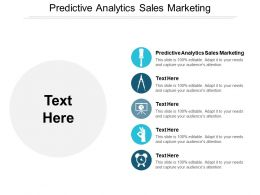 Predictive Analytics Sales Marketing Ppt Powerpoint Presentation Inspiration Portrait Cpb