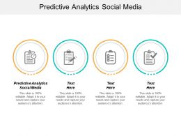 Predictive Analytics Social Media Ppt Powerpoint Presentation Layouts Backgrounds Cpb