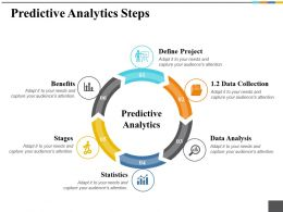 Predictive Analytics Steps Ppt Summary Graphics Pictures