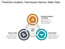 Predictive Analytics Techniques Improve Sales Data Analytic Task Management Cpb