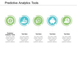 Predictive Analytics Tools Ppt Powerpoint Presentation Pictures Slideshow Cpb