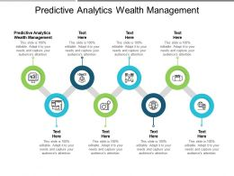 Predictive Analytics Wealth Management Ppt Powerpoint Presentation Pictures Outfit Cpb