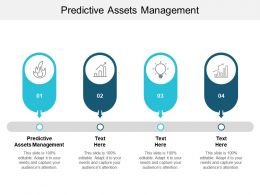 Predictive Assets Management Ppt Powerpoint Presentation Inspiration Guidelines Cpb