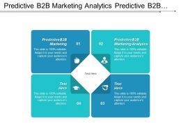 Predictive B2b Marketing Analytics Predictive B2b Marketing Project Stakeholder Cpb