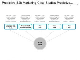 Predictive B2b Marketing Case Studies Predictive B2b Marketing Definition Cpb