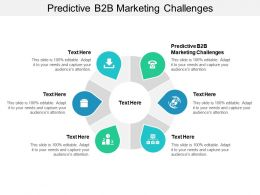 Predictive B2B Marketing Challenges Ppt Powerpoint Presentation Portfolio Files Cpb