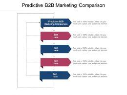 Predictive B2b Marketing Comparison Ppt Powerpoint Presentation Show Gridlines Cpb