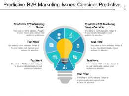 Predictive B2b Marketing Issues Consider Predictive B2b Marketing Options Cpb
