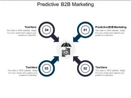Predictive B2b Marketing Ppt Powerpoint Presentation Ideas Outfit Cpb