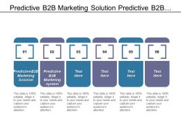 Predictive B2b Marketing Solution Predictive B2b Marketing System Cpb