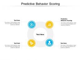 Predictive Behavior Scoring Ppt Powerpoint Presentation Model Vector Cpb