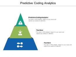 Predictive Coding Analytics Ppt Powerpoint Presentation Ideas Master Slide Cpb