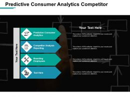 Predictive Consumer Analytics Competitor Analysis Reporting Boarding Employees Cpb