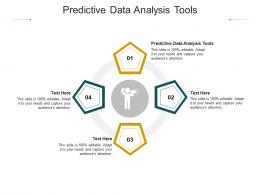 Predictive Data Analysis Tools Ppt Powerpoint Presentation Styles Master Slide Cpb