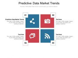 Predictive Data Market Trends Ppt Powerpoint Presentation Infographics Inspiration Cpb