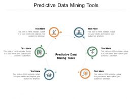 Predictive Data Mining Tools Ppt Powerpoint Presentation Icon Graphics Cpb