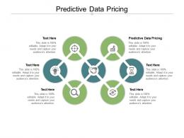Predictive Data Pricing Ppt Powerpoint Presentation Model Topics Cpb