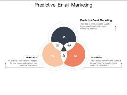 Predictive Email Marketing Ppt Powerpoint Presentation Model Slide Portrait Cpb
