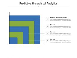 Predictive Hierarchical Analytics Ppt Powerpoint Presentation Slides Mockup Cpb