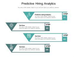 Predictive Hiring Analytics Ppt Powerpoint Presentation Portfolio Smartart Cpb