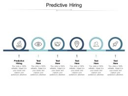 Predictive Hiring Ppt Powerpoint Presentation Pictures Microsoft Cpb