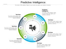 Predictive Intelligence Ppt Powerpoint Presentation Icon Slides Cpb