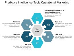 Predictive Intelligence Tools Operational Marketing Ppt Powerpoint Presentation Model Deck Cpb