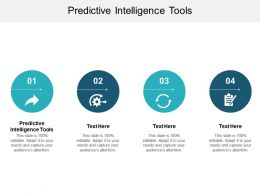 Predictive Intelligence Tools Ppt Powerpoint Presentation File Clipart Cpb