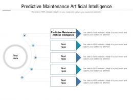 Predictive Maintenance Artificial Intelligence Ppt Powerpoint Presentation Model Aids Cpb